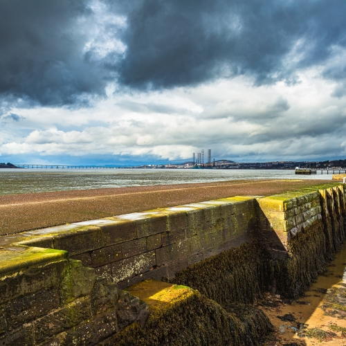 Broughty Ferry Harbour, Dundee, Scotland. DD022