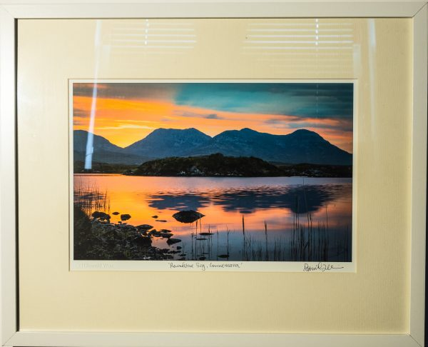 Framed print of Roundstone Bog, Connemara, Ireland.