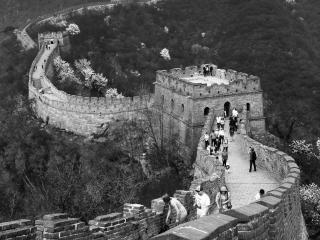 The Great Wall of China at Mutianyu, near Beijing.