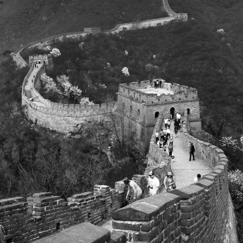 The Great Wall of China at Mutianyu, near Beijing.