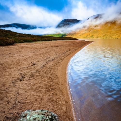 Loch Muick, Cairngorms National Park, Scotland.