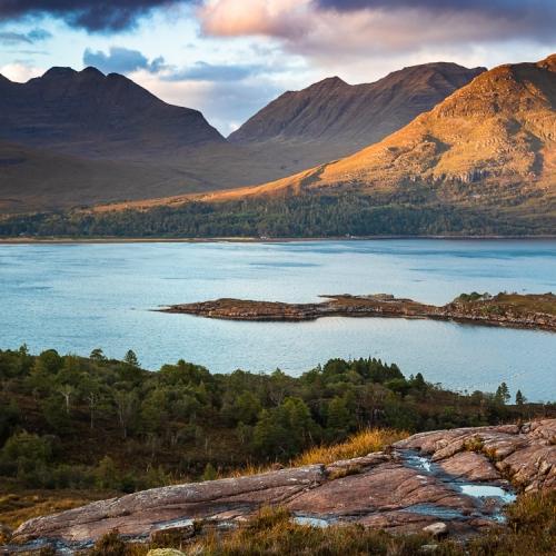 Torridon from Applecross, Wester Ross, Scotland. AP036