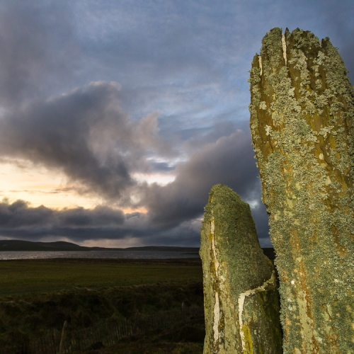 Stones of the Ring of Brodgar, Orkney Islands. OR002