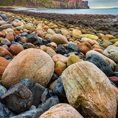 Boulders at Rackwick Bay, Hoy, Orkney Islands OR007