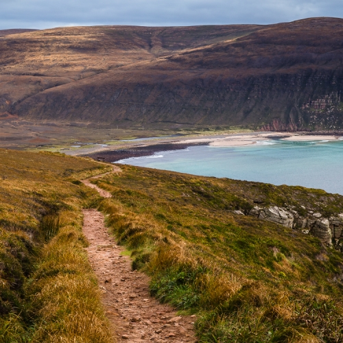 Rackwick from the Old Man path, Hoy, Orkney Islands. OR009