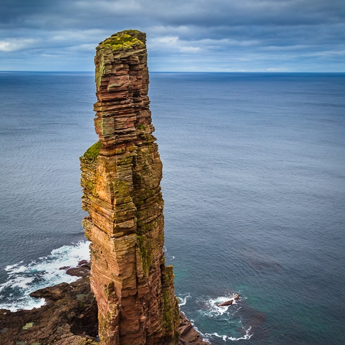 The Old Man of Hoy, Orkney Islands. OR010