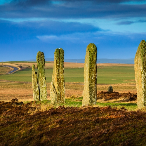 The Ring of Brodgar neolithic stone circle, Mainland, Orkney OR032