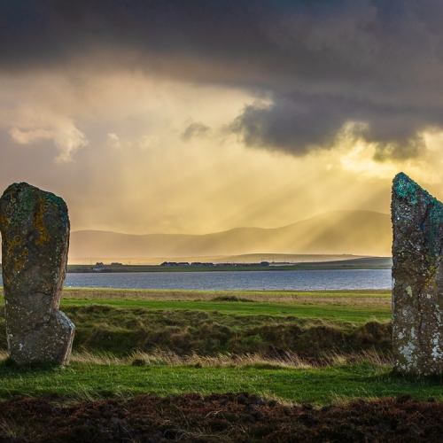 Ring of Brodgar and Loch of Harray, Mainland, Orkney OR025